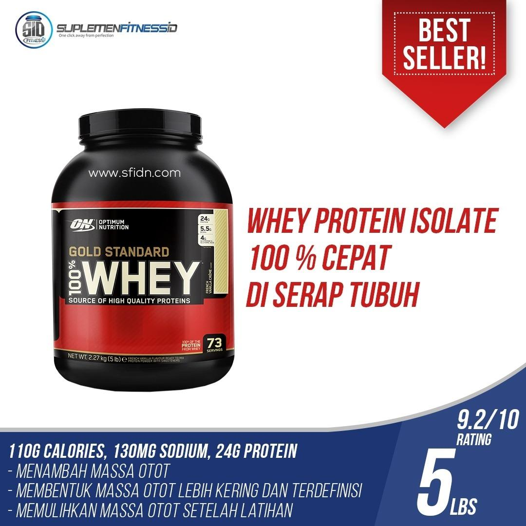Review Toko Optimum Nutrition Whey Gold Standard 100 5 Lbs Coklat Online