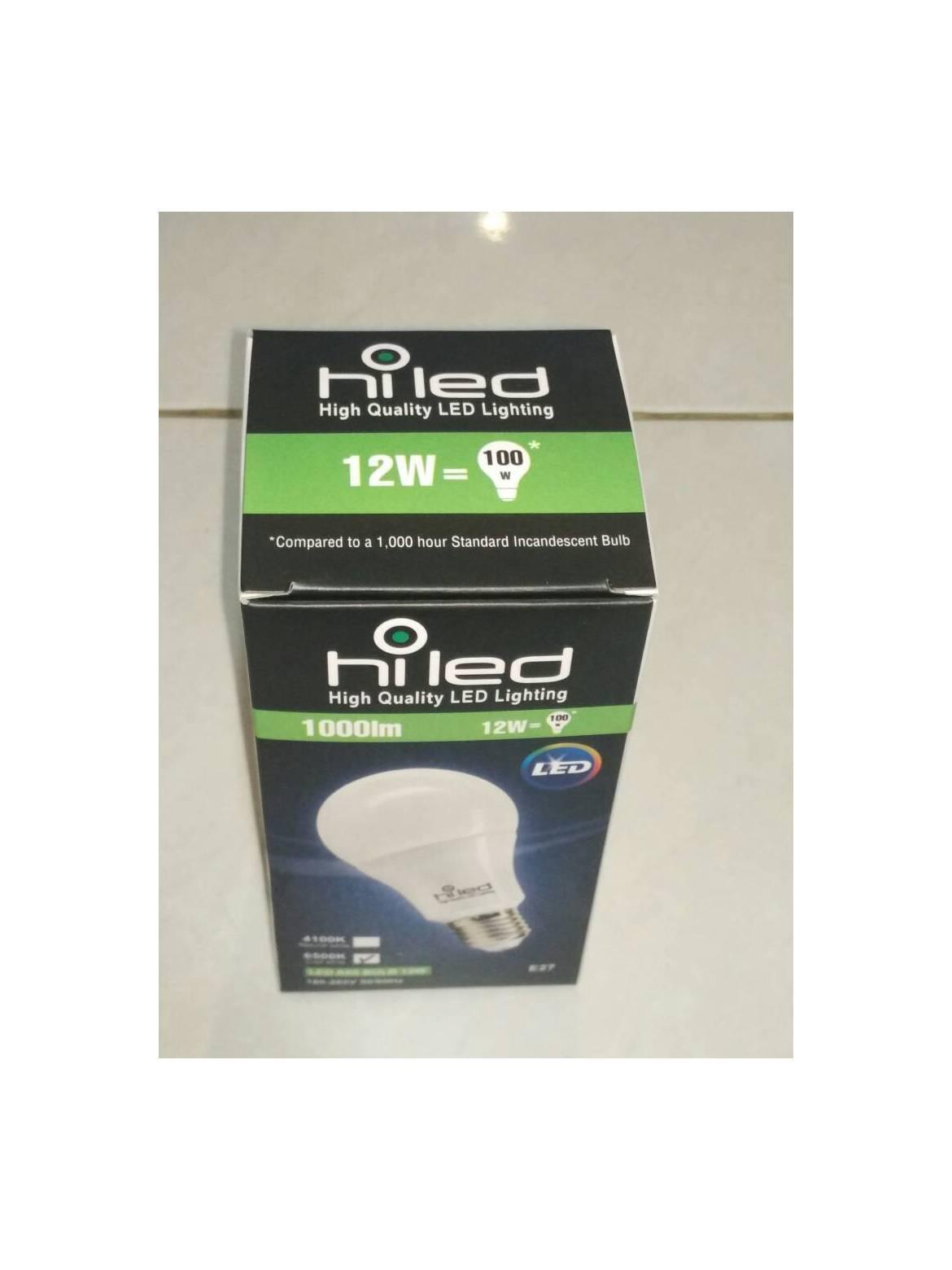 Hiled Bohlam LED Bulb 220V 9W White Non Dimmable – Garansi 24 Bulan. IDR 85,000 IDR85000. View Detail. Hiled Bulb/Bohlam 12Watt Natural White E27