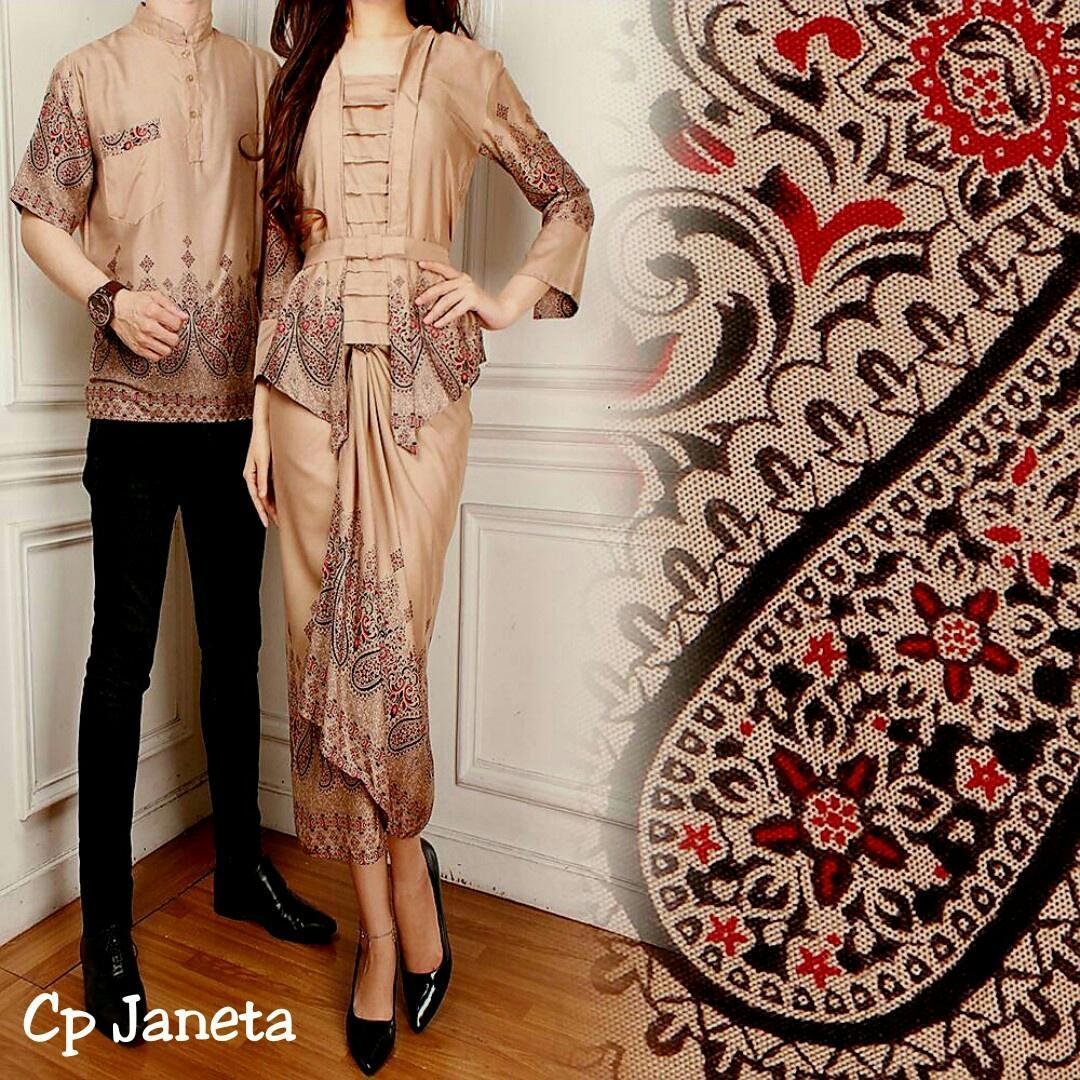 Fitur Kedai Baju Batik Couple Pasangan Adelia Hijau Ia Sarimbit Kondangan Janeta
