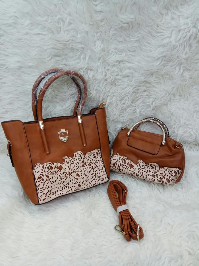 TAS FURLA SET ANAK LEATHER EPSOM SEMI SUPER
