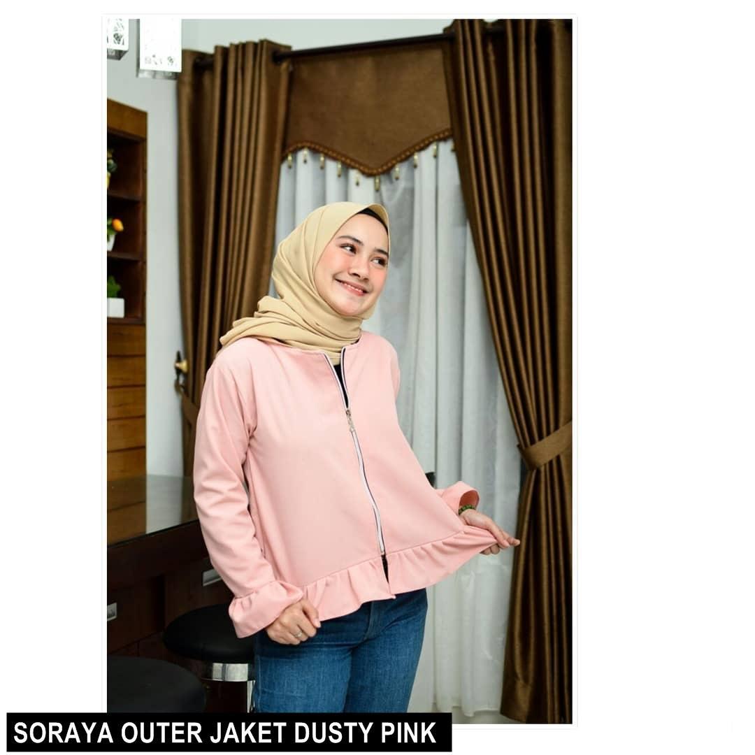 SORAYA OUTER JAKET ||| loekita ||| grosir jaket sweater baju atasan blouse