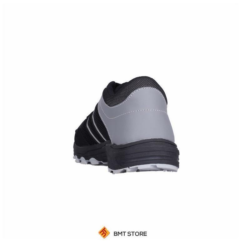 ... Sepatu Sneaker Olahraga Lari dan Joging Pria Catenzo DY 046-687 Hitam Kombinasi - 3 ...