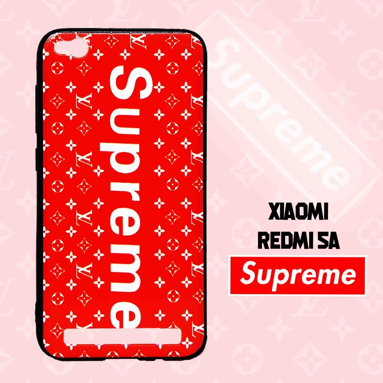 Marintri Case Xiaomi Redmi 5A New Fashion Supreme Red Edition