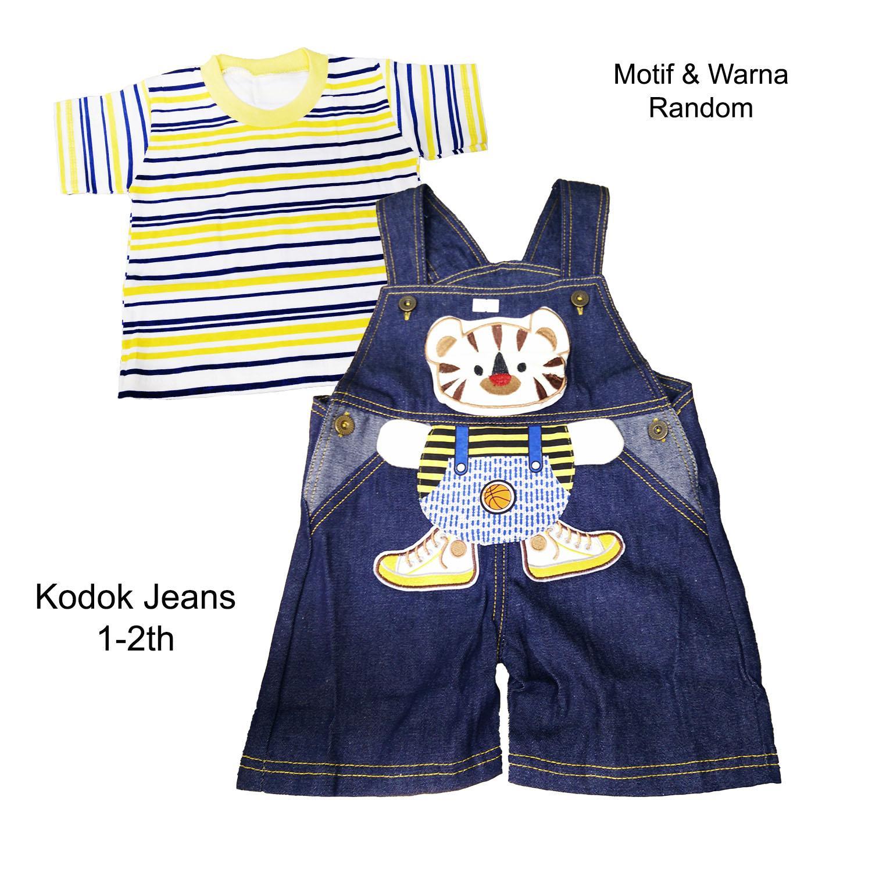 Fitur Babykatie Miyo Baju Kodok Segiempat Pendek Jeans Bayi Baby Wwk