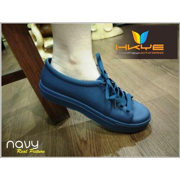 Sepatu Jelly / Sepatu Jelly Bara bara / Hokky Shoes Wanita / Sepatu Jelly Kets Tali