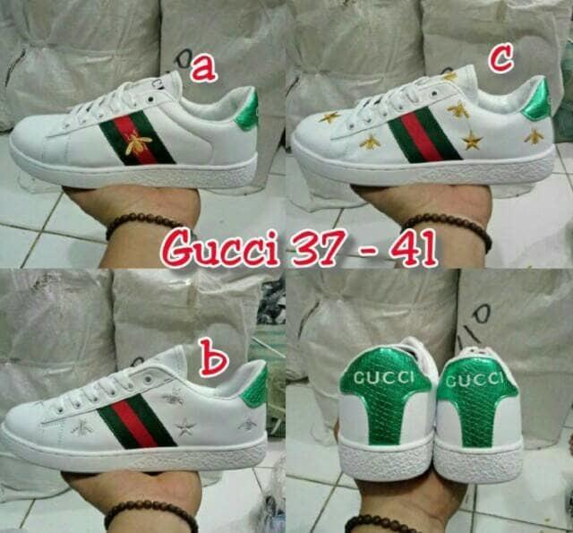 Sepatu Cewek Adidas Gucci Import Quality