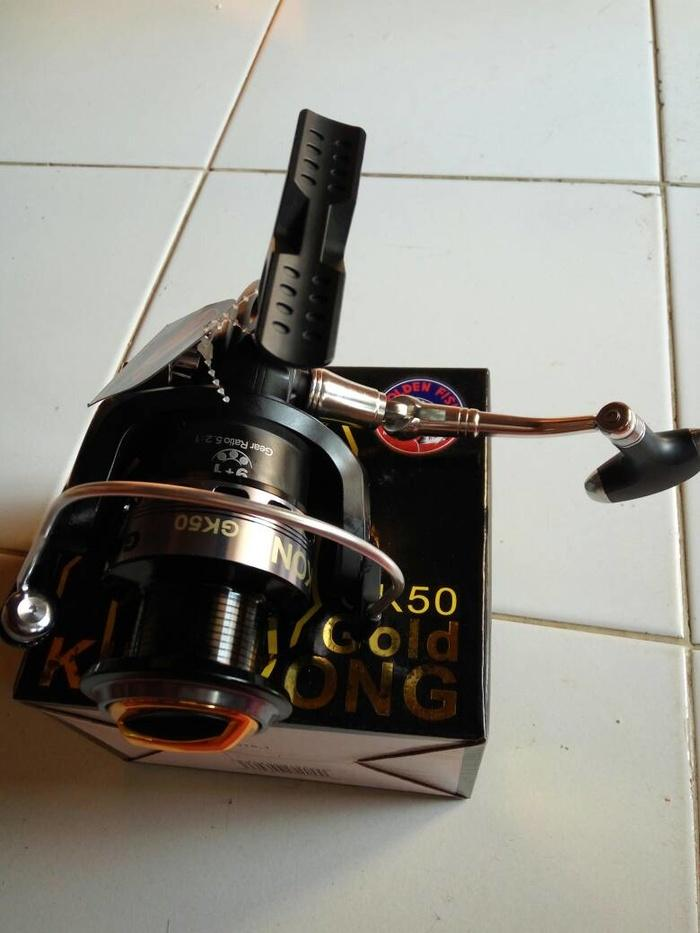 Reel Golden Fish Kingkong (GK 50) 10 Bearings