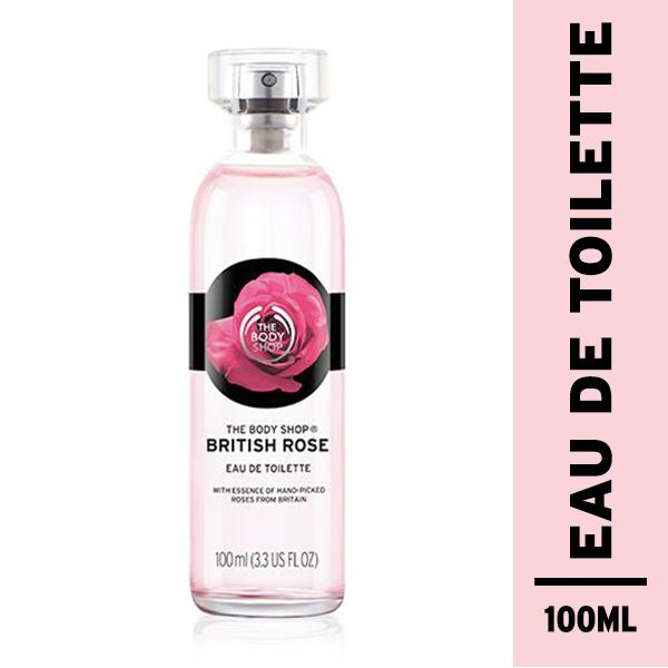 Review The Body Shop British Rose Eau De Toilette Banten