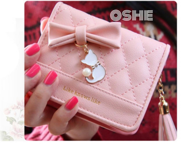 ... dompet lipat wanita dompet cewek dompet kecil kucing gantung