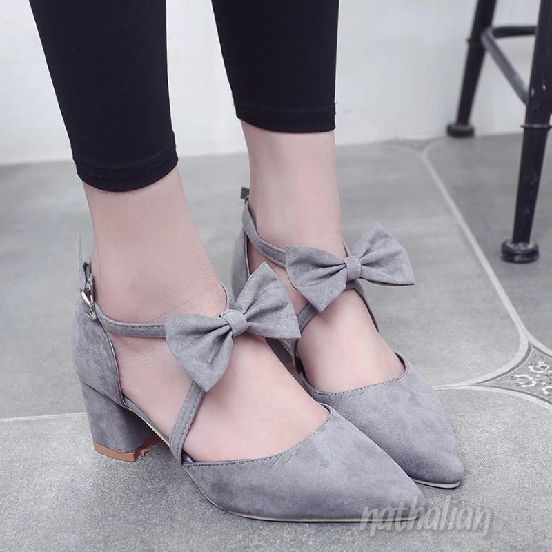 Nathalian-Aine Chunky Heels
