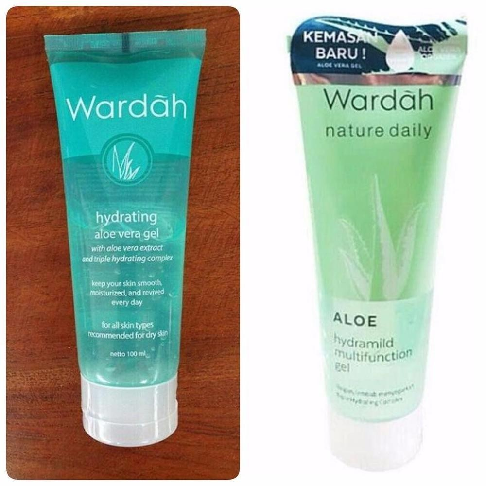 Situs Review Wardah Hydrating Aloe Vera Gel 100Ml