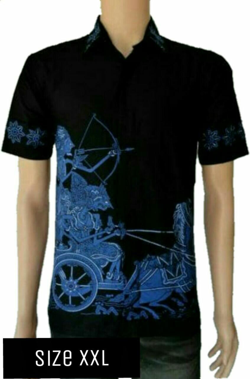 Beli Model Kemeja Batik Pria Kemeja Batik Pekalongan Kemeja Batik Modern Motif Pandawa Xxl Azka Batik Asli
