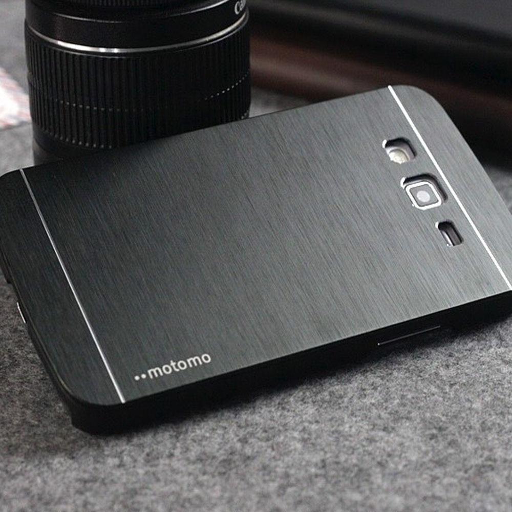 Motomo Samsung Galaxy Core 2 G355H Hardcase Backcase Metal Case - Hitam