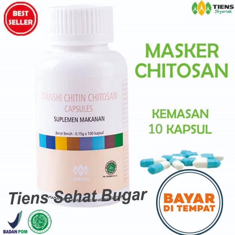 Toko Tiens Masker Herbal Anti Jerawat Paket 10 Kapsul Promo By Tiens Sehat Bugar Termurah