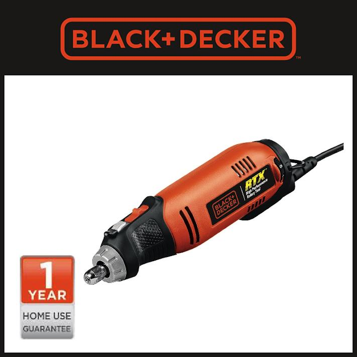 Promo Toko Black Decker Rtx1Vp B1 High Performance Rotary Tool Value Pack