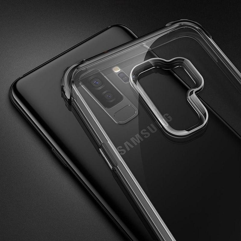 Fitur Anti Crack Acrylic Mika Soft Case For Samsung Galaxy A6 2018