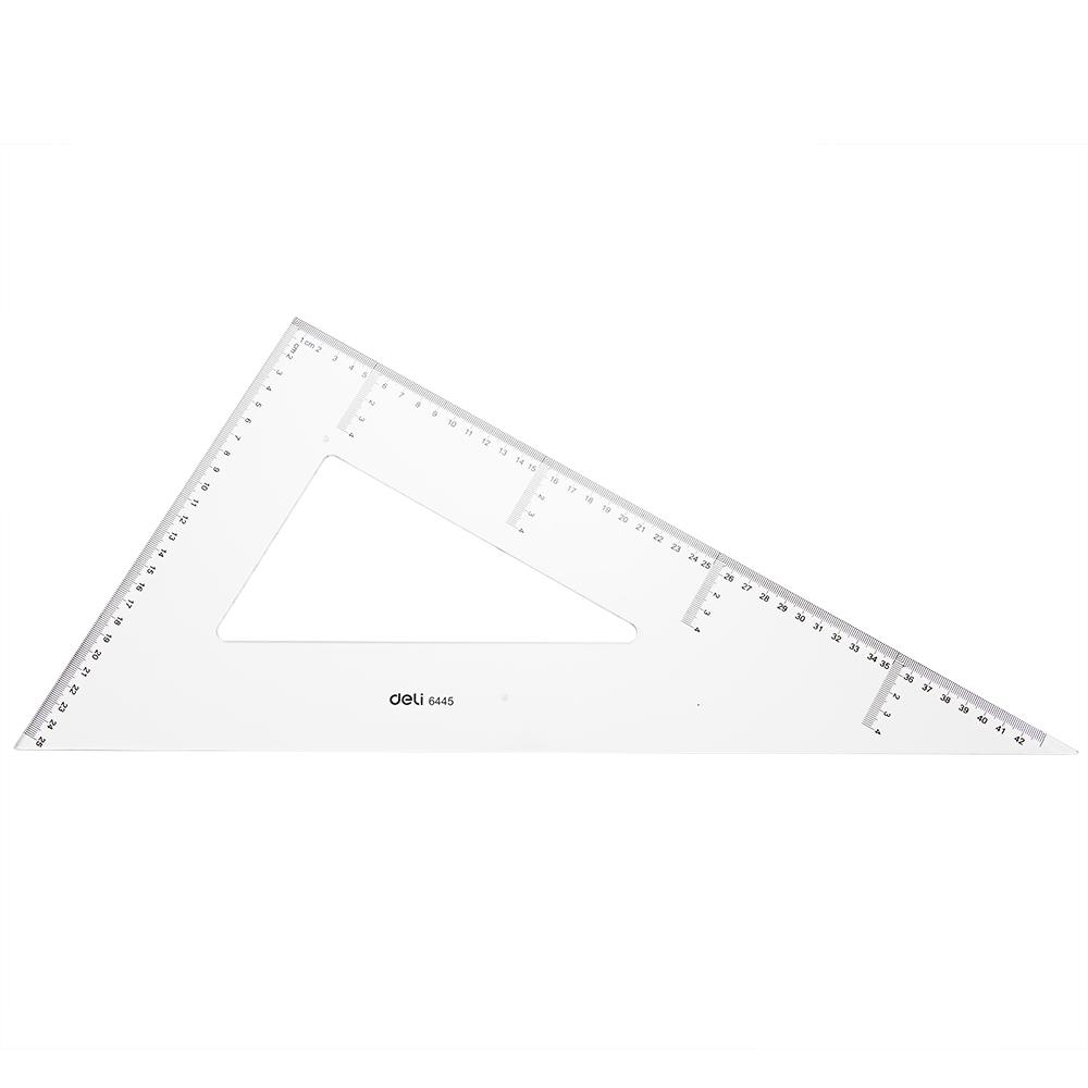 Deli E6445 Drafting/Drafting - Set Square 2pcs 43cm - 3