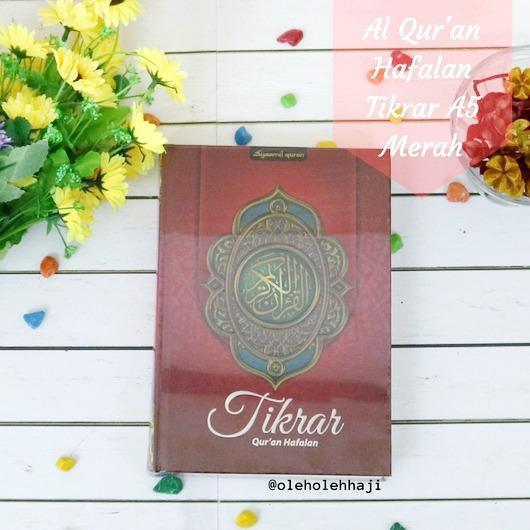 Review Nabawi Al Quran Tikrar Hafalan Sedang Hard Cover A5 Syaamil Merah