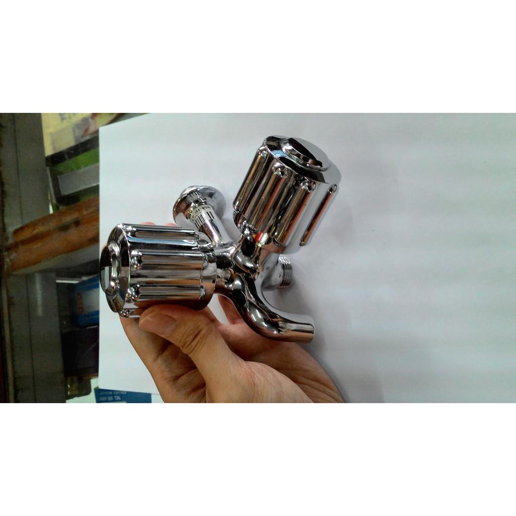 KRAN / KERAN AIR TOTO DOUBLE / DOBLE 1/2 INCH MODEL BULAT NEW