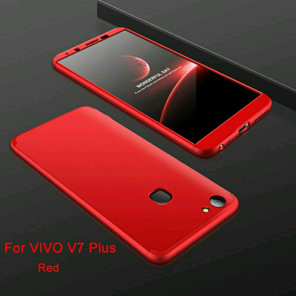 Ipaky 360 Vivo V7 PLUS Full Cover Armor Baby Skin- Full Body Free Temperd Glass