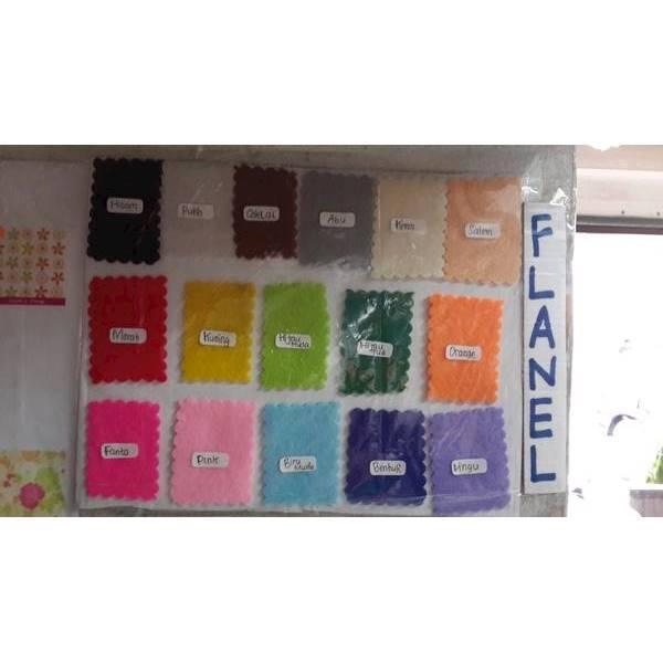 Paket Kain Flanel / Felt Double D (Taiwan) - Jual Per Meter