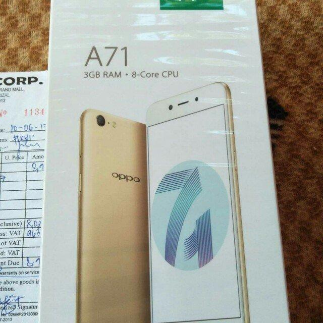 oppo A71 new.