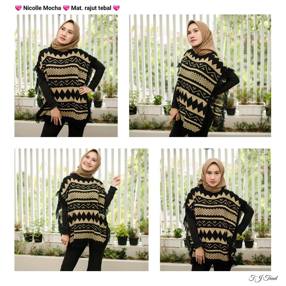 Detail Gambar NICOLLE ||| nouska shop ||| jaket sweater baju atasan blouse