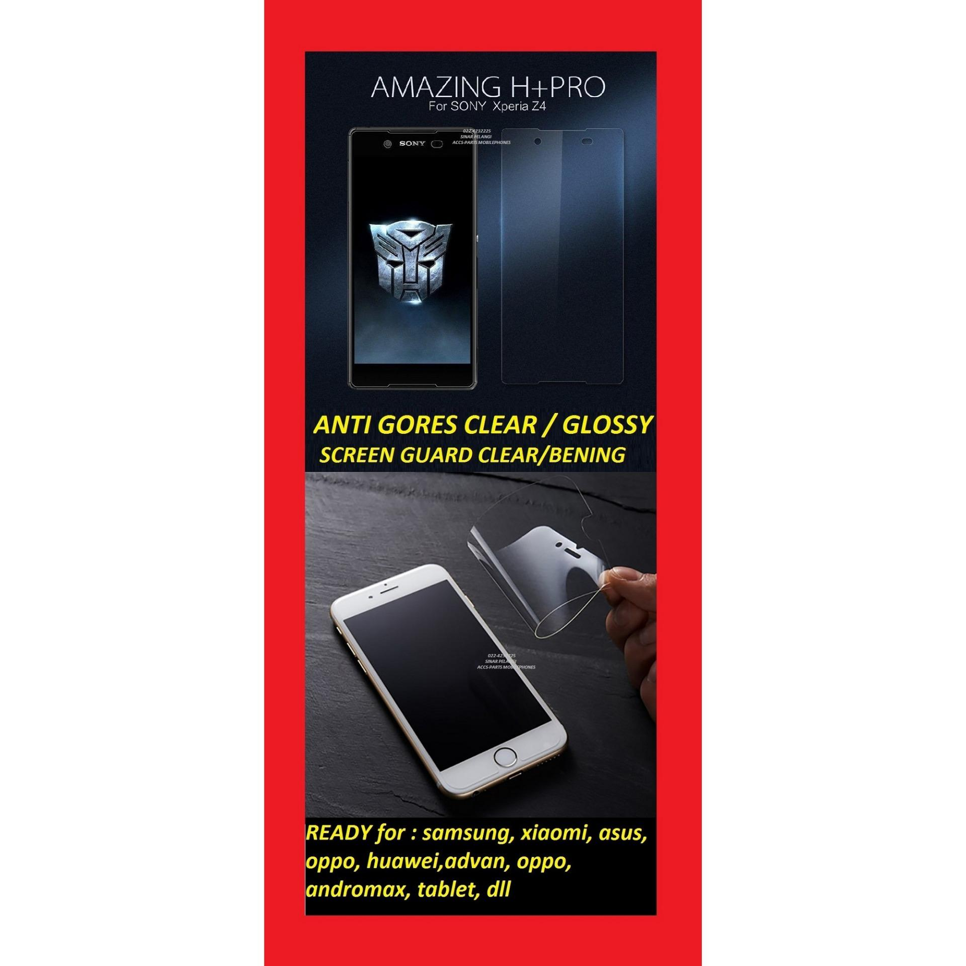 ANTI GORES CLEAR GLOSSY BENING OPPO SELFIE EXPERT A57 5.2 INCH SCREEN GUARD PROTECTOR PELINDUNG LAYAR