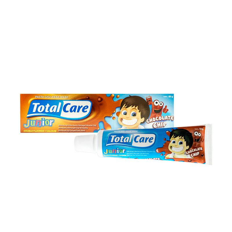 Detail Gambar Total Care Junior Toothpaste Chocolate [50 g/ Isi 2] Terkini