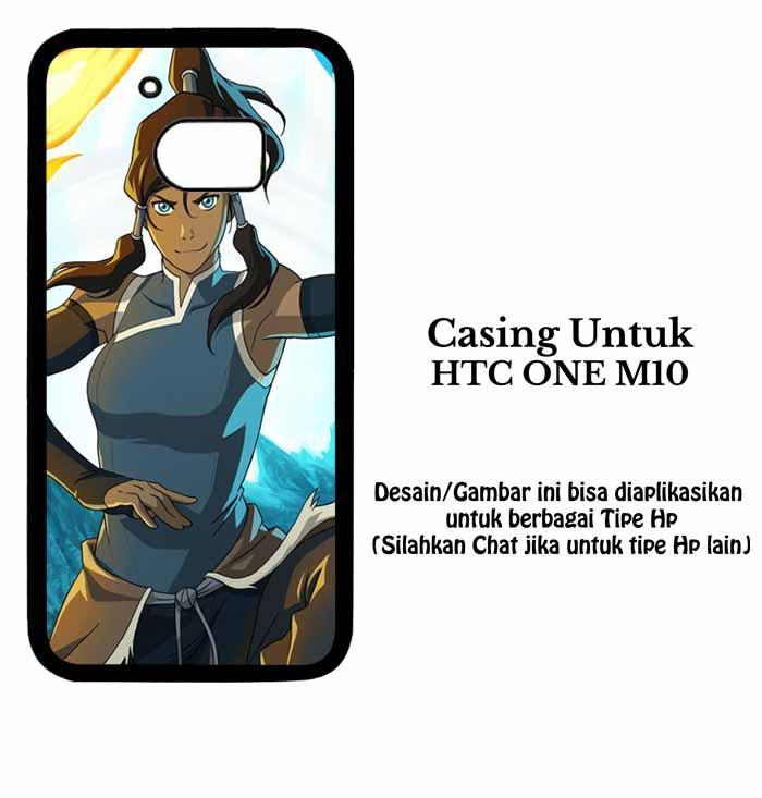 Casing HTC ONE M10 legend of korra Custom Case Hardcase
