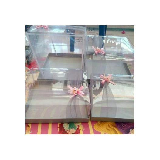 Kotak Hantaran Cantik Isi 4 Pcs Untuk Tas Model Tile Lebar