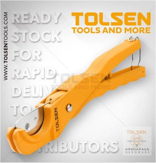 Gunting Pipa Tang Potong Pipa PVC Pipe Cutter 210mm TOLSEN