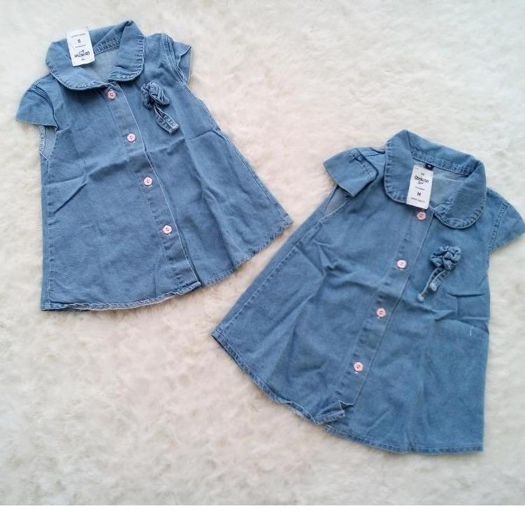 Dress Tunik Anak Soft Jeans Premium - 3 .