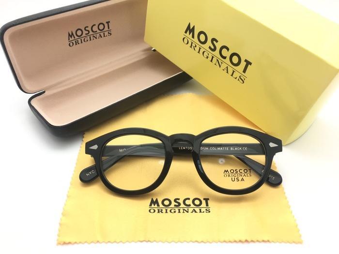 Frame Kacamata Minus Moscot Lemtosh Size M USA Pria Wanita Hitam Kilap 6a9b8b177f