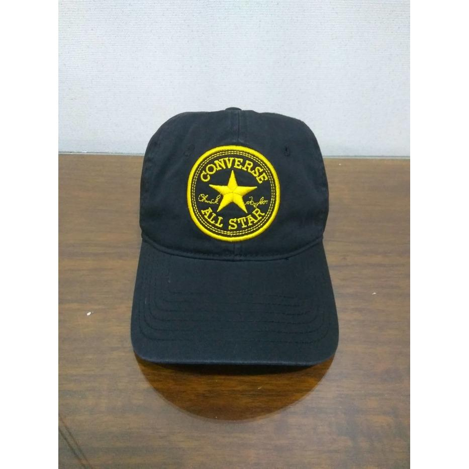 Topi Converse Core Cap Center - Black