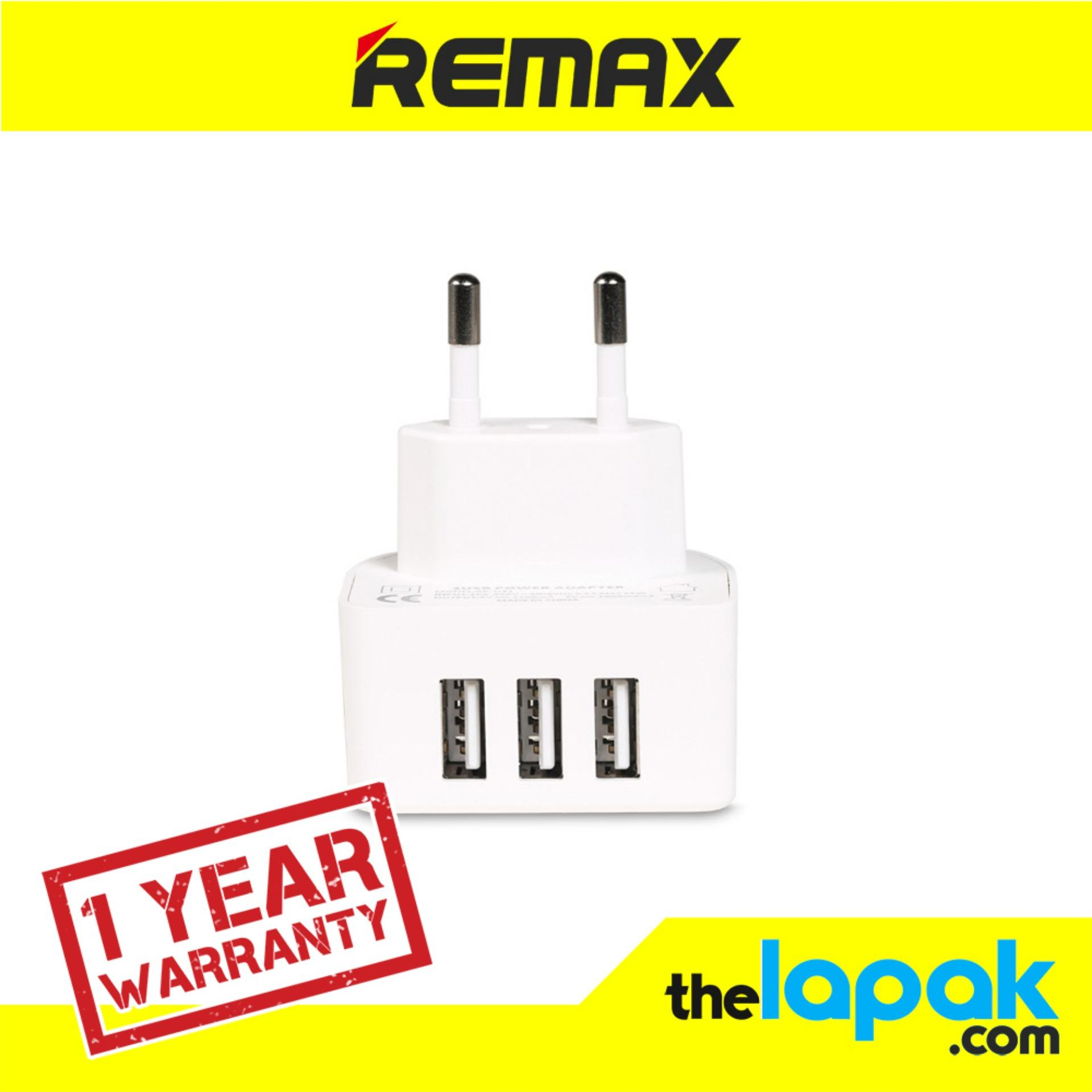 Review Toko Remax 3 1A 3 Ports Usb Charger Moon
