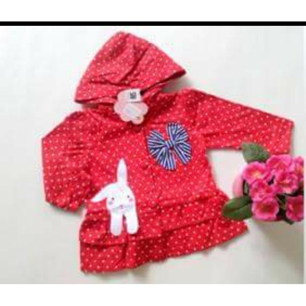 Spesifikasi Jaket Anak Cewek Pinguin Jaket Bayi Korea Lucu Sweater Hodie Anak Perempuan Lengkap