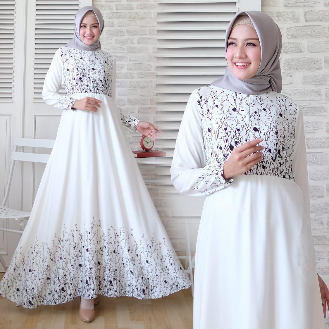 Fitur Jr Muslimah Atasan Wanita Baju Gamis Maxmara Full Colour Dan