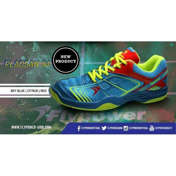 Terbaru Laris! Sepatu Badminton FLYPOWER PLAOSAN 4 ORIGINAL
