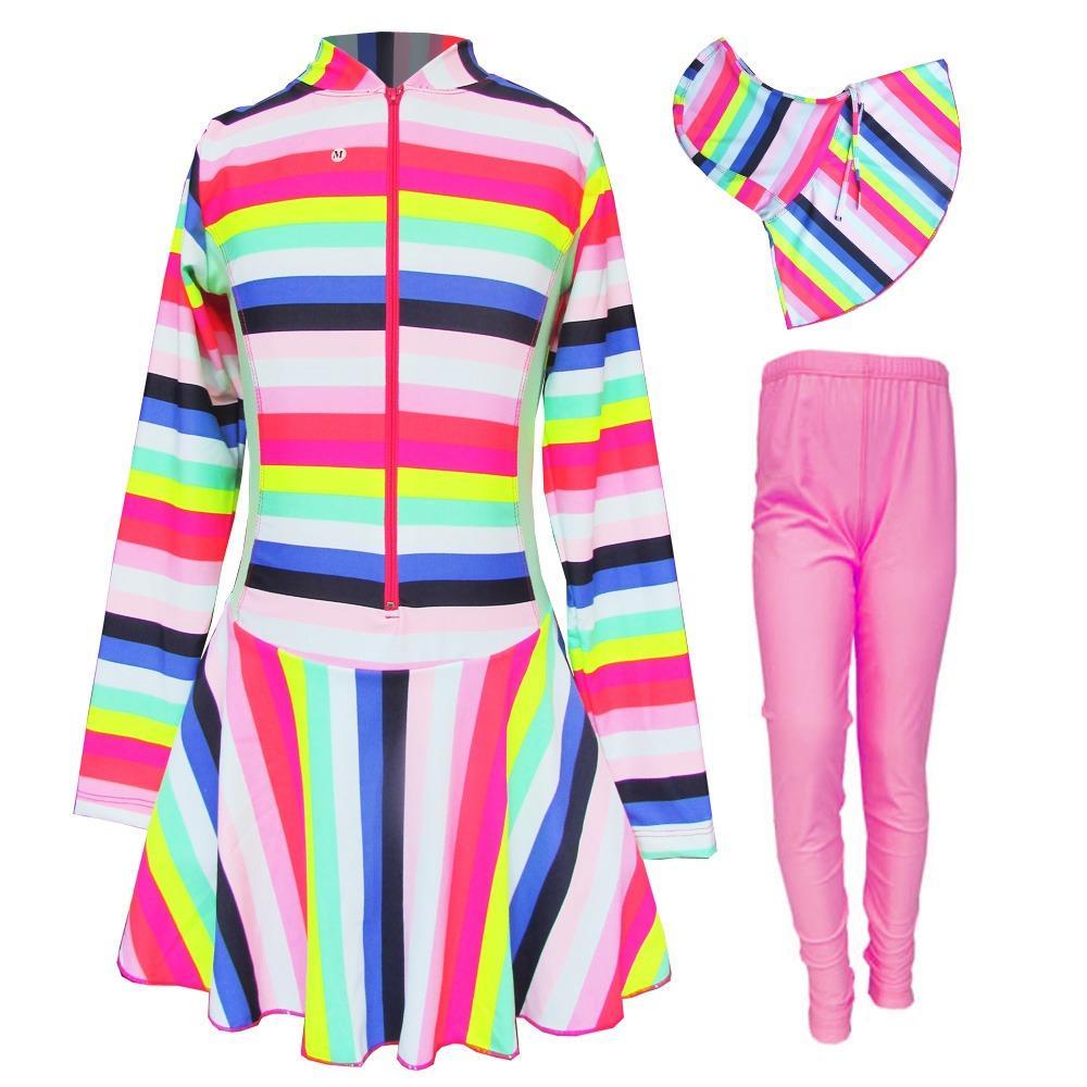 Baju Renang Anak Muslim Motif Size TK