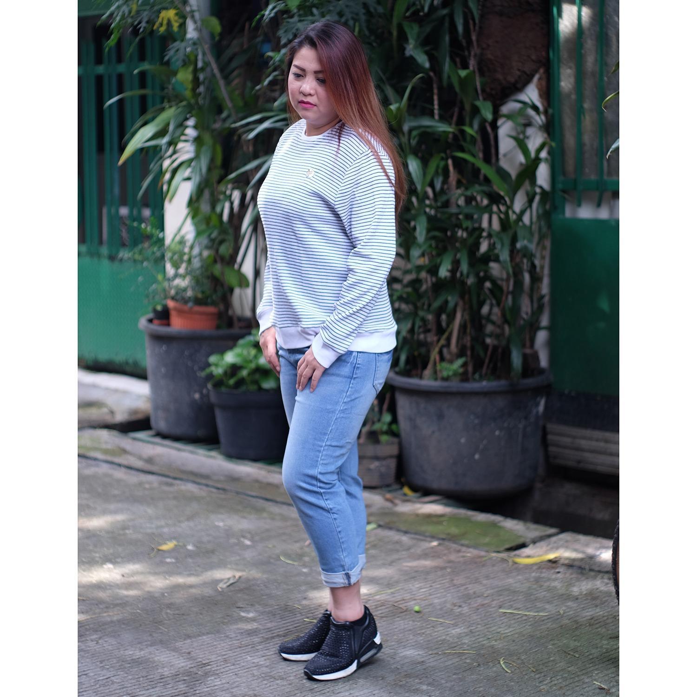 Celana Jeans Jumbo Wanita 7per9 Belinda Jumbo