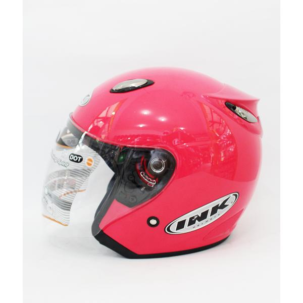 HELM BEST INK CENTRO ~ GOOD PRODUK SNI / PINK MAGENTA