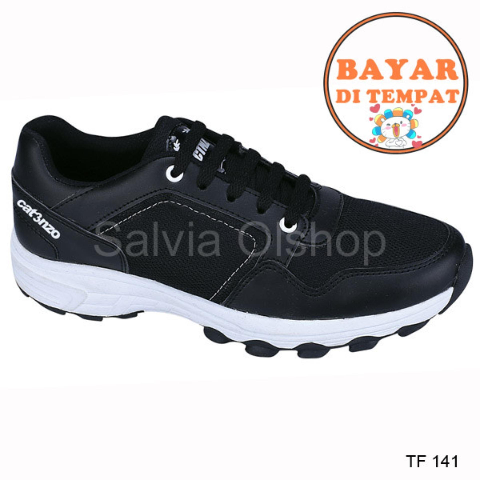 Fitur Catenzo Sepatu Sport Lari Pria Keren Dan Modis Tf 141 Hitam ... 758951422c