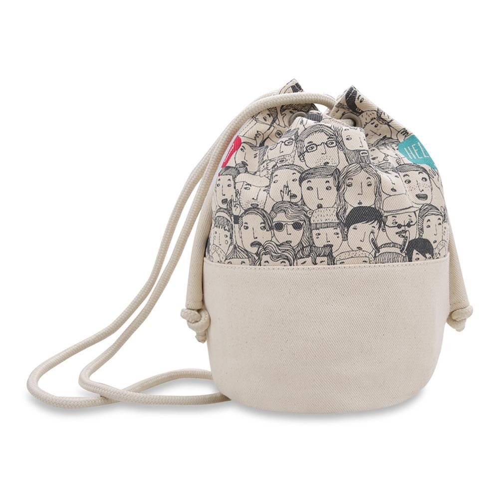 ... Exsport Lit Bucket Bag - Cream - 3 ...