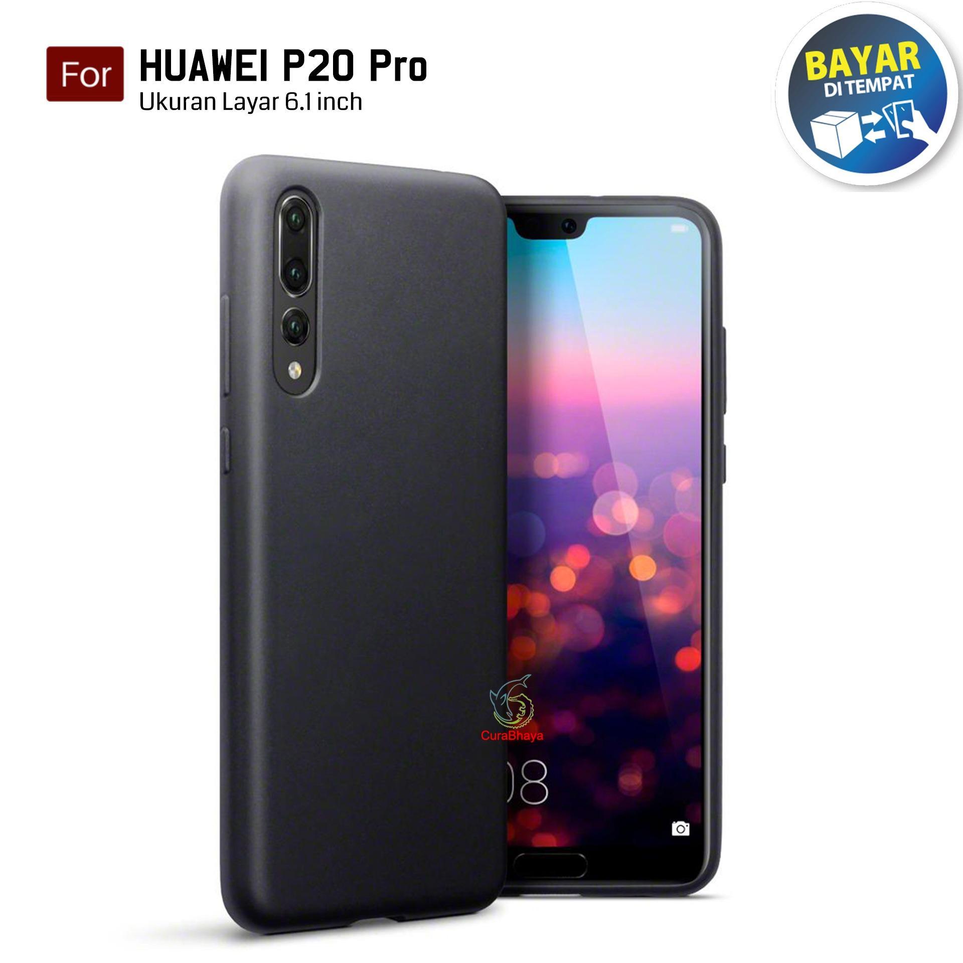 MidNight Huawei P20 Pro | Slim Case Black Matte Softcase Premium Baby Skin - Hitam