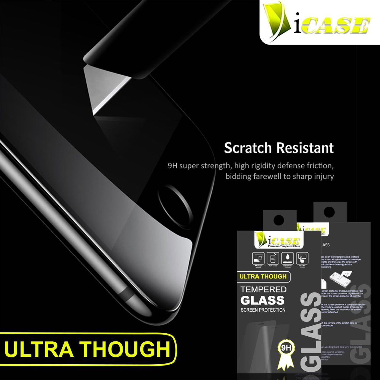 Tempered Glass Bening Xiaomi Mi5S Plus Screen Guard Protection Glass Icase - 3 .