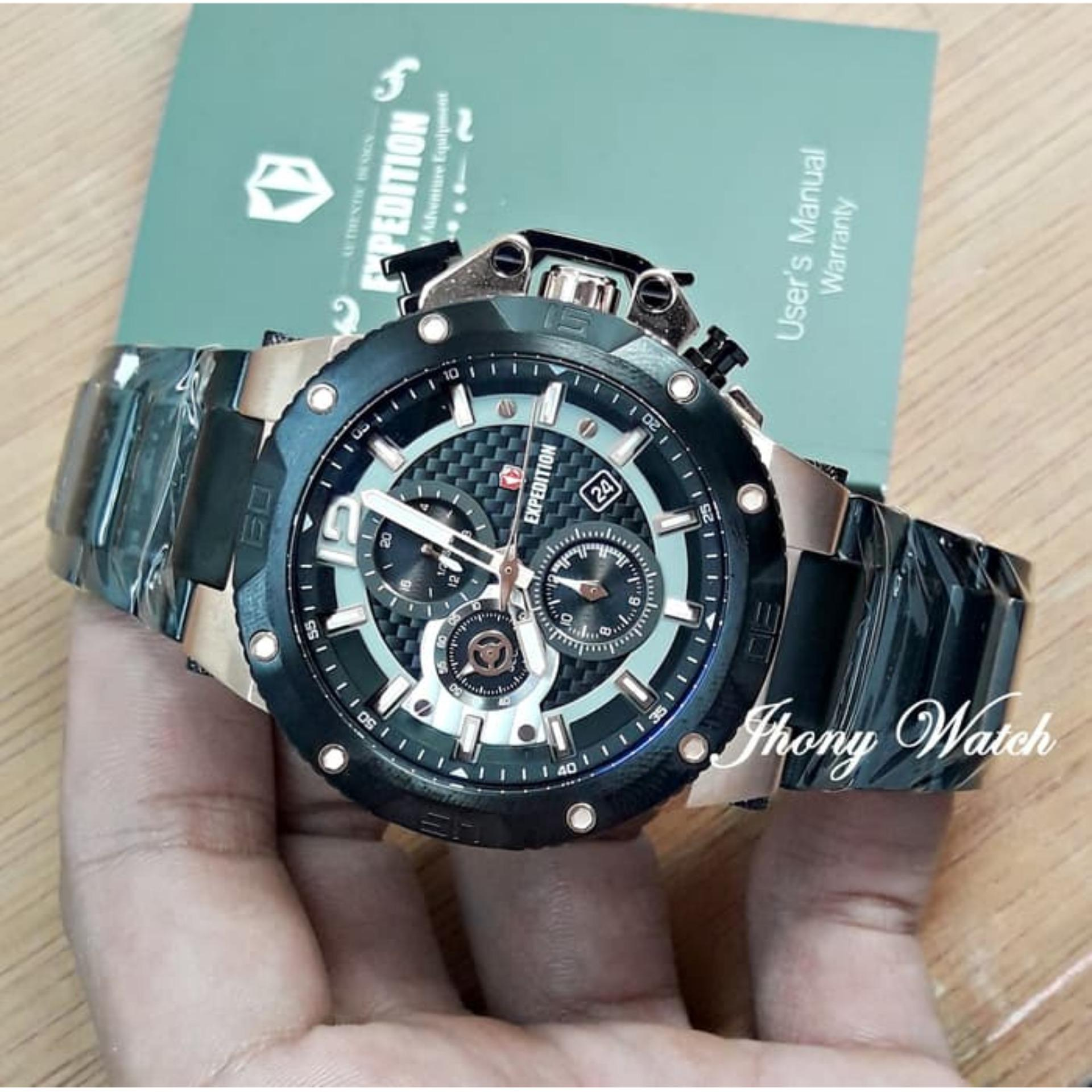Fitur Jam Tangan Pria Expedition E 6751 Black Gold Original Dan E6715 Limited Edition 4