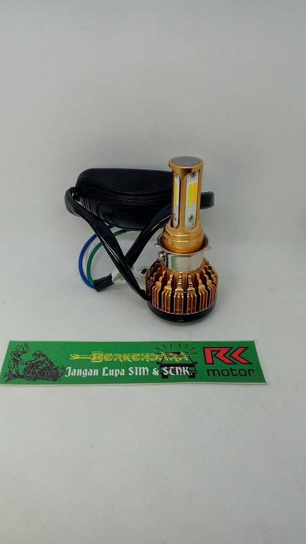 Features Lampu Depan Led Z2 Motor Vespa Matic Dan Bebek 3 Sisi Dual