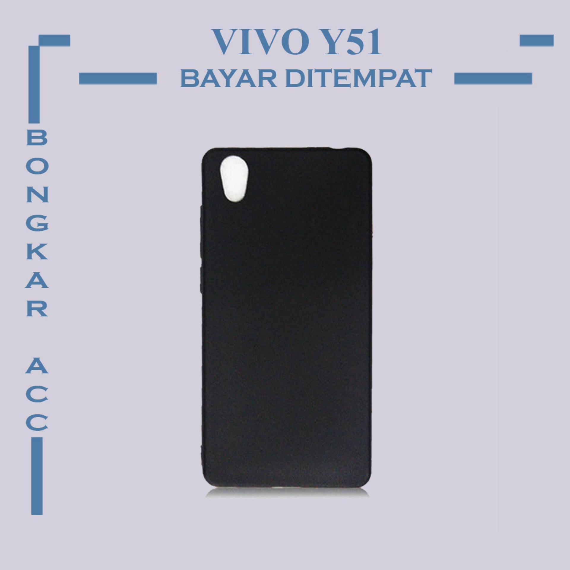 Vivo Y51 Casing Hp Black Matte Ultraslim Shockproof Black Color Casing Hp Black Matte Vivo Y51