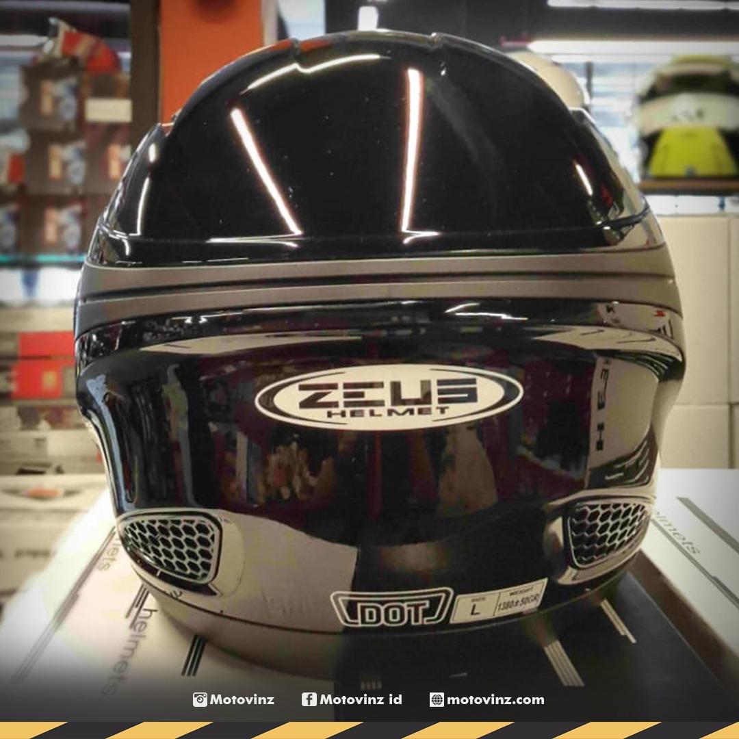 c6a6fc01 Review Helm Zeus 610 Black Dan Harga Terkini - Rumah Kami | Daftar ...